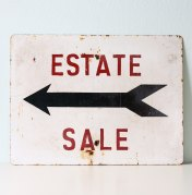 Estate-Sale sign